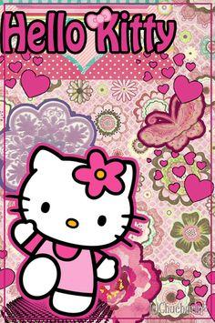 Gambar Hello Kitty Untuk Garskin : gambar, hello, kitty, untuk, garskin, Hello, Kitty, Backgrounds, Wallpaper