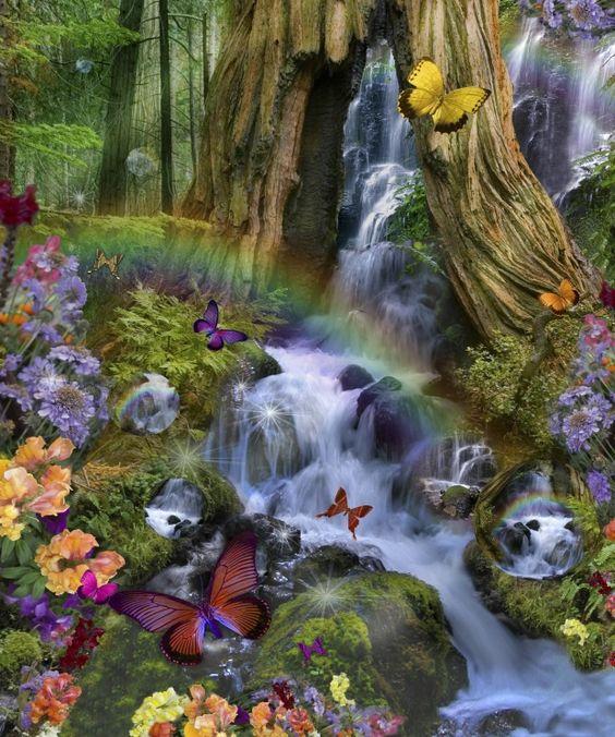 Fall Fairys Wallpapers Fairy Land Wallpaper Sf Wallpaper