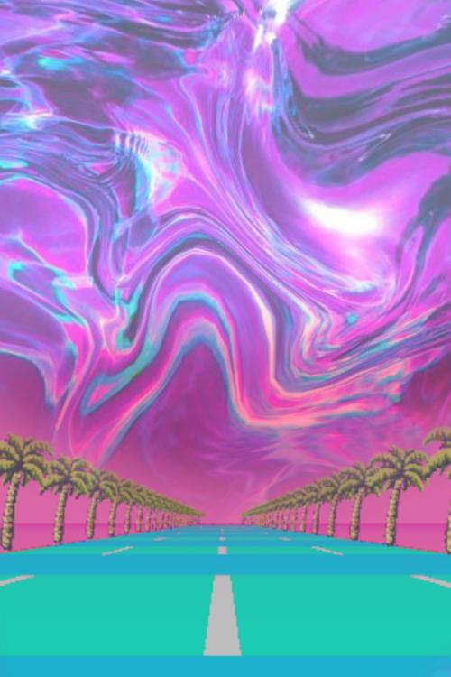 Future Funk Wallpaper : future, wallpaper, Iphone, Future, Vaporwave, Background, Wallpaper, Desaign
