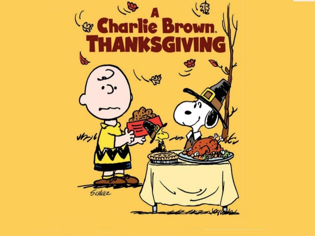 Peanuts Thanksgiving Wallpaper Sf