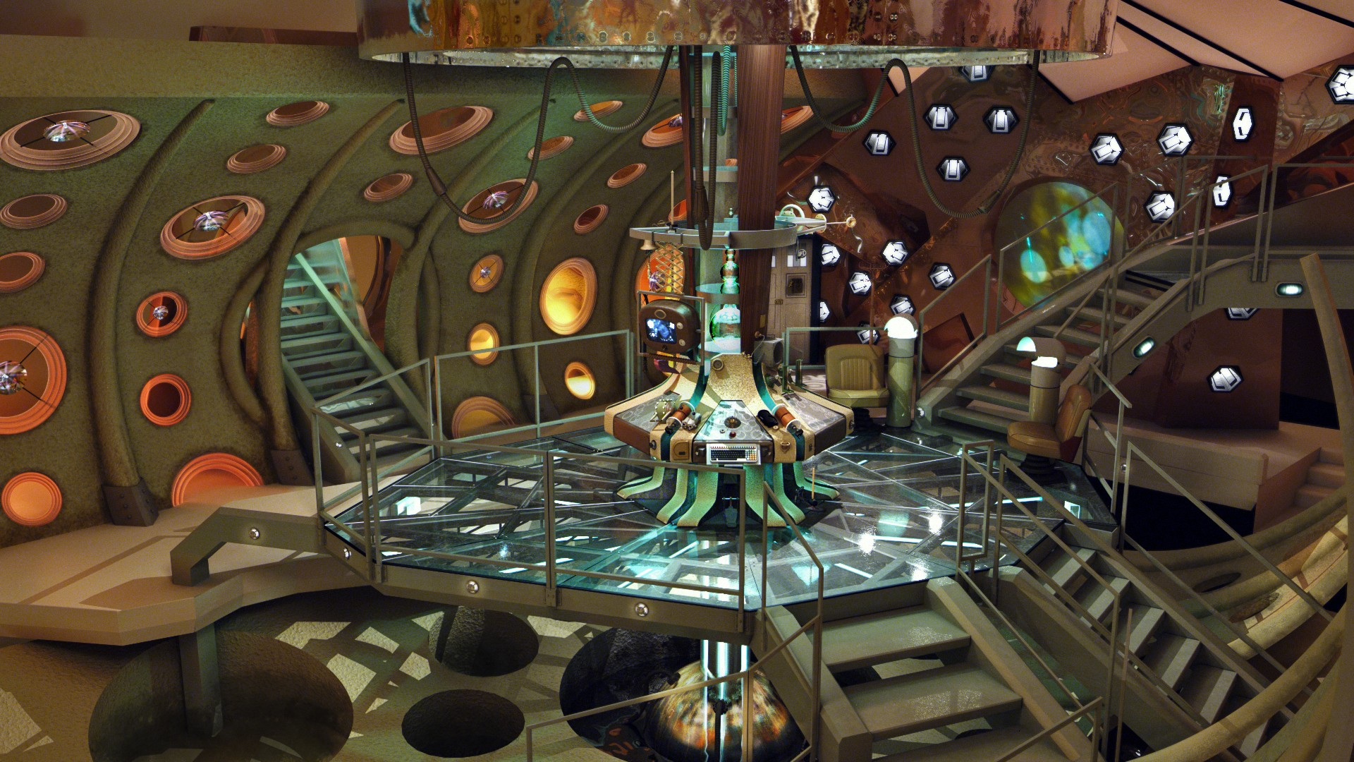 Tardis interior wallpaper  SF Wallpaper