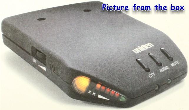 Economy Radar Detector Circuit