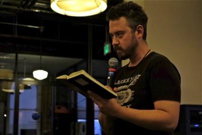 Lapo Guzzini reads some new creative non-fiction.