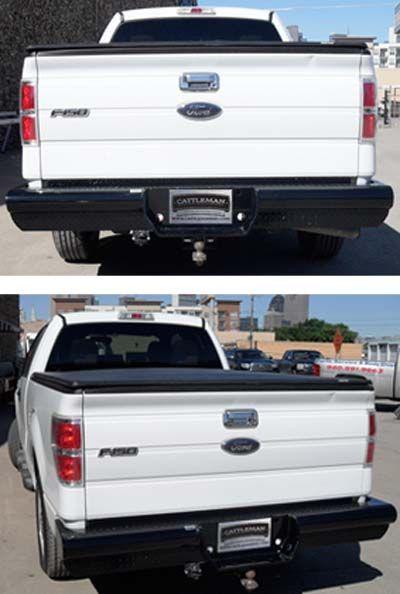 2007 Ford F150 Rear Bumper : bumper, Cattleman, Products, 4338:, 2006-2013, Steel, Bumper
