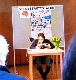 Sveva ist die beste Vorleserin im Ostalbkreis