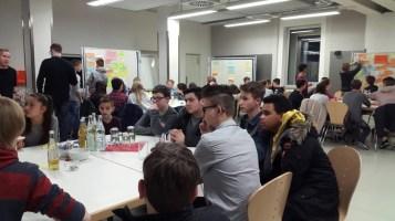 14.02.2017: Schülerinnen und Schüler des SG beim Jugendhearing der Stadt Aalen.