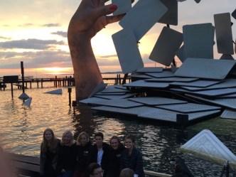 20.07.2017: Die Musiker lassen sich von den Bregenzer Festspielen begeistern