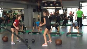 180201: Zum Wintersporttag im Fitness-Center