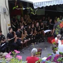 04.07.2018: Die Big Band groovt im Café Wunderlich