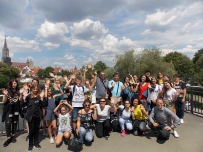 17.07.2018: Die türkische Austauschgruppe in Ulm