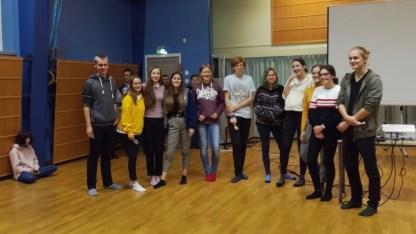 30.10.2018: An unserer finnischen Partnerschule in Muhos