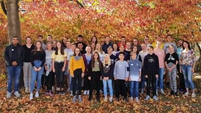 15.10.2018: Die Klassensprecherinnen und Klassensprecher mit den SMV-Vertretern und ihren Verbindungslehrern