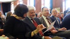 15.05.2019: Schulleiterin Christiane Dittmann im Gespräch mit Regierungspräsident Wolfgang Reimer (Stuttgart) und Oberbürgermeister Thilo Rentschler