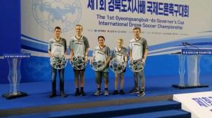 28.09.2019: Gruppensieg, zwei gewonnene Freundschaftsspiele und irrer Spaß des SG-Teams in Südkorea