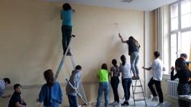 17.01.2020: Die 8a macht ihr Klassenzimmer noch schöner!
