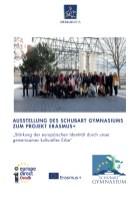 26.10.2020: Plakat zur Eröffnung der Ausstellung zum Erasmus+-Projekt