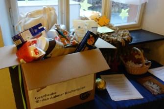 14.12.2020: Große Kisten für die Adventsaktion