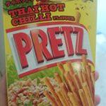 タイで大人気の、ウマウマ ラーブ味プリッツがシンガポールでも買える件! ハマっています。オススメ