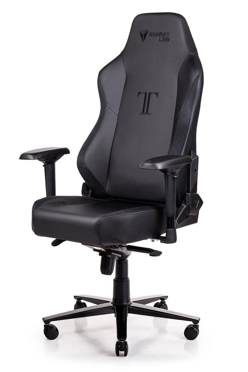Video Game Chairs Secretlab Titan 2018 Series Prime Pu Leather Gaming Chair Black W Suede