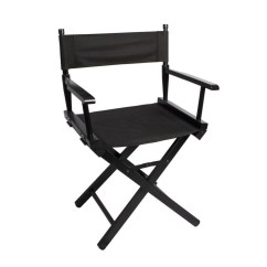 Fishing Chair Singapore Cover And Sash Hire London Meking Folding Makeup Artist Director Steel Outdoor Camping Black Intl