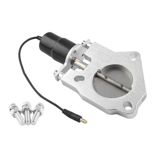 small resolution of 2 5 63mm electric exhaust catback downpipe cutout e cut out valve motor kit