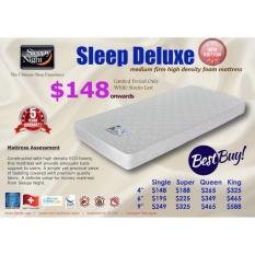 Sleepy Night Sleep Deluxe High Density Foam Mattress Single 6 Free Delivery Singapore