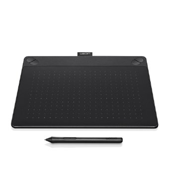 WACOM Intuos Comic Creative Pen and Touch Tablet CTH-490- ( BLACK ) (Small) | Lazada Singapore