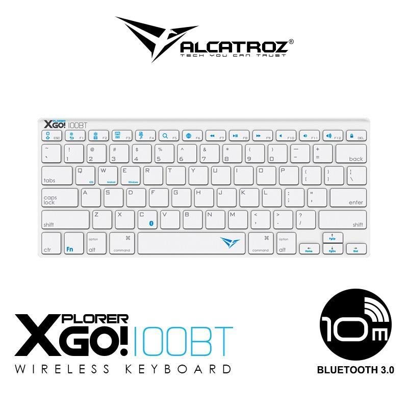 Alcatroz Bluetooth 3.0 Wireless keyboard Xplorer Go! BT100