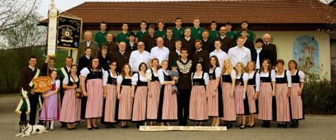 "Gruppenfoto der SG ""Zur Heimat"" Matzing"