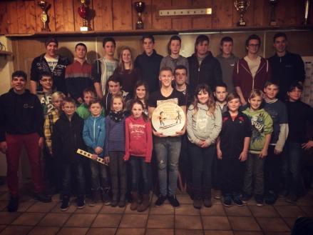 Vergleichsschießen der Schützenjugend Matzing, Traunwalchen und Nußdorf 2015