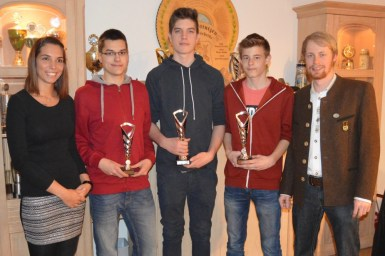 Jugend Vereinsmeister der SG Matzing