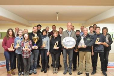 Alle Gewinner der Stadtmeisterschaft 2017