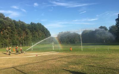 Nothilfe Rasenbewässerung