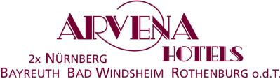 Logo Arvena Hotels Mit Orten