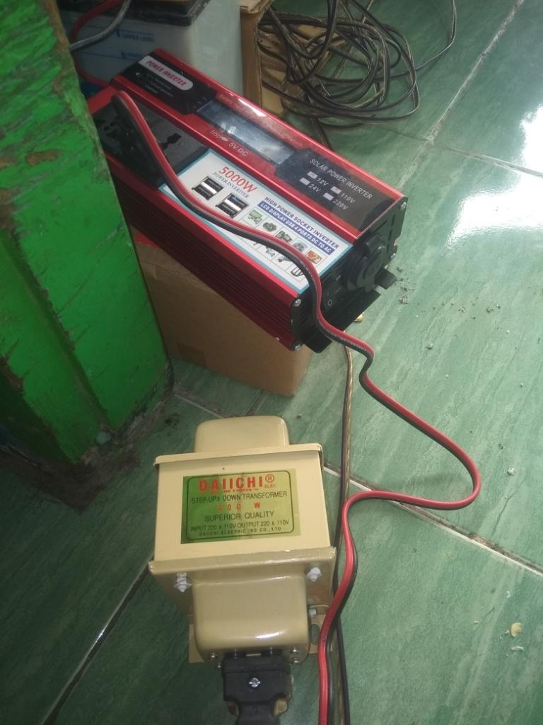 Alat Penurun Tegangan Listrik : penurun, tegangan, listrik, 110v), Daiichi, Penurun, Tegangan, Lazada, Indonesia