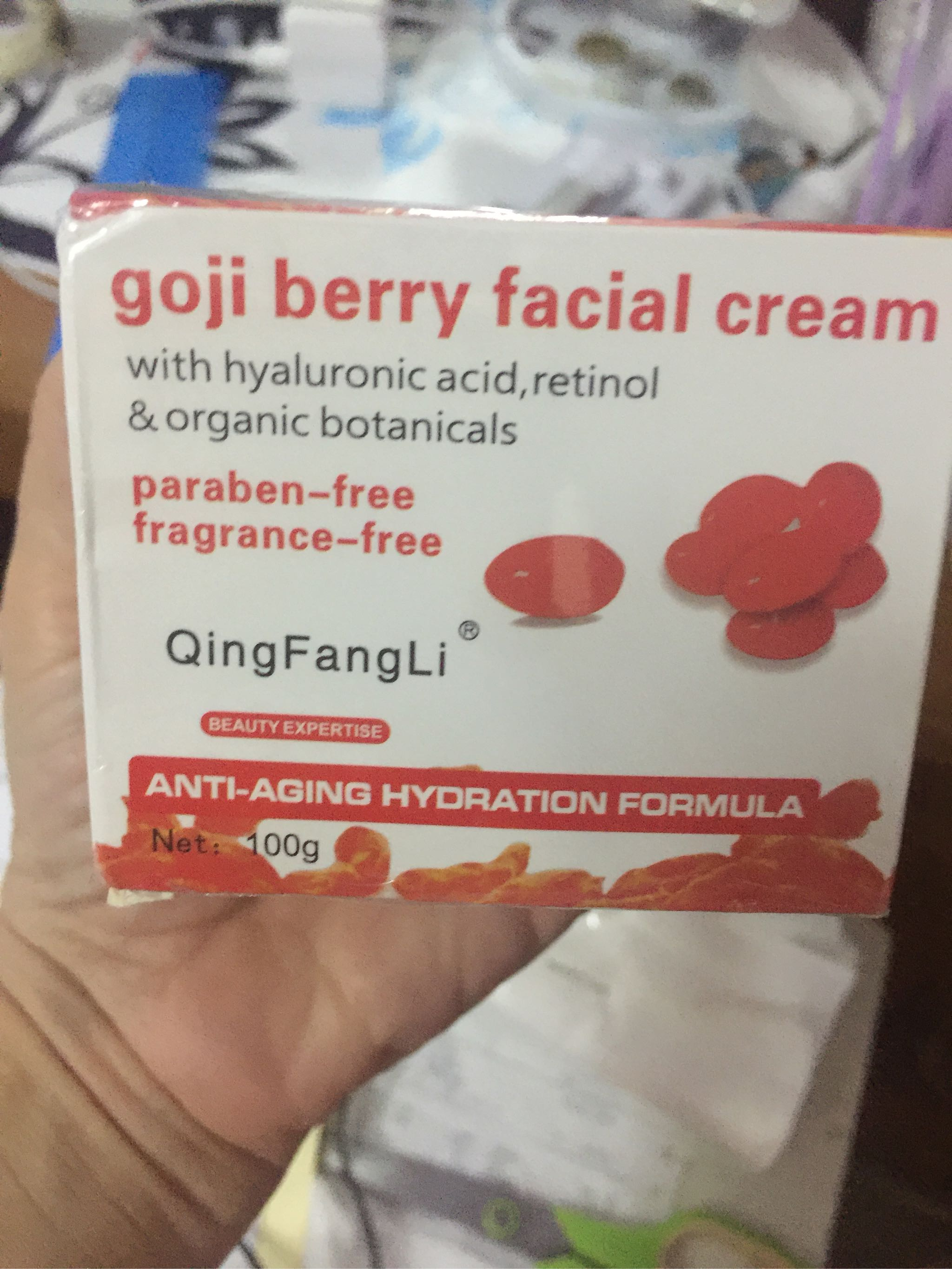 Lazada Goji Cream : lazada, cream, Cream, Facial, Aging, Wrinkle, Creams, Revitalizing, Whitening, Lazada
