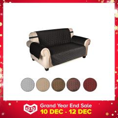2 Seat Reclining Sofa Cover Venus Chocolate Sectional Reviews Buy Slipcovers Furniture Couch Lazada Sg Seater 3 Deluxe Elastic Protector Pet