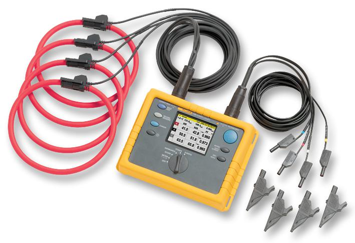 FLUKE 1735 - FLUKE - Three Phase Power Logger Monitors Power and Associated Parameters for up to 45 Days