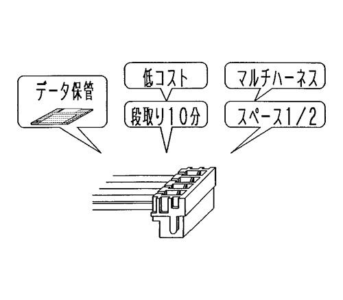 DF11 Series 2‑mm Grid Double-Row Connector (UL/CSA