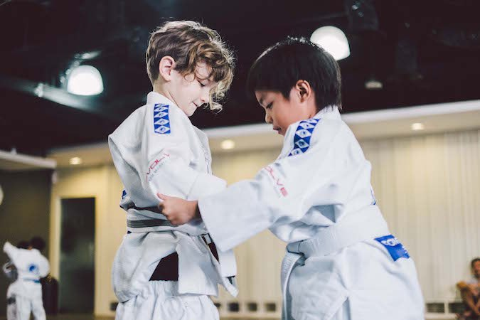 Children who practice martial arts are less likely to face hardships as an adult.