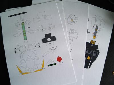 Papercraft TR-1 Hazel [Part 2]  (2/4)