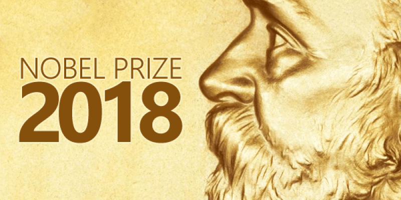Image result for nobel prize winners 2018