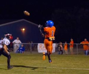 Air Attack: Turner County used the passing game in a big way in Friday's win. Photo: Jessica Peters/SGSN