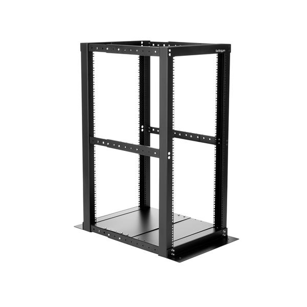 25U Open Frame RackCabinet  4 Post  Adjustable Depth