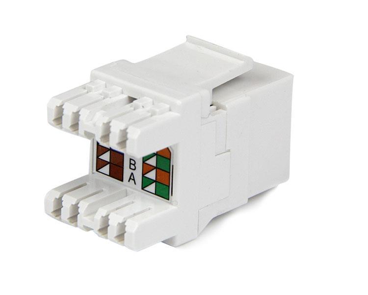 cat6 keystone jack wiring diagram vw beetle rear suspension | rj45 ethernet |180-degree – 110 type startech.com