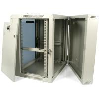 19in Wall Mounted Rack - 12U   Server Cabinet   Hinged ...