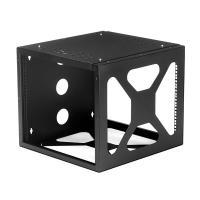 Side-mounted Wallmount Open Frame Rack/Cabinet   8U   19in ...