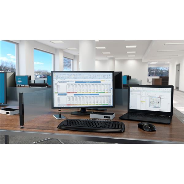 USB 30 Docking Station  4K Displayport 3 x USB 30