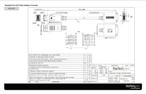 DisplayPort DVI Adapter  DisplayPort Male   DVI Single