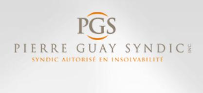 Carte d'affaires Pierre Guay Syndic